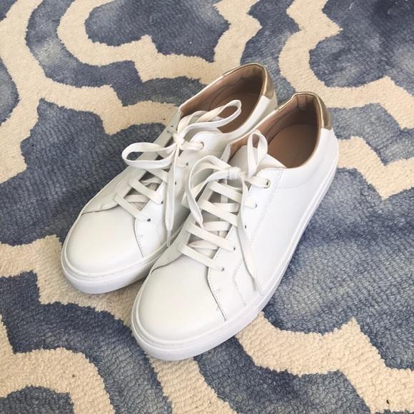 Banana Republic White Style Sneakers